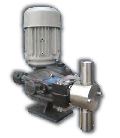 Pompa typu RCC 16 HV 50 DV 6 l/h 10 bar g. mechanizm z odciąganiem sprężyny